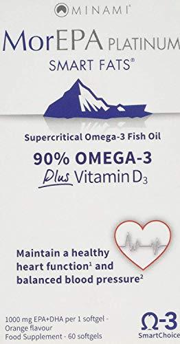Minami Nutrition MorEPA Platinum 60 Capsules (Pack of 2)