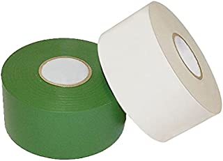 WOD PWT-10C Heavy Duty Corrosion Control SPVC White Pipe Wrap Tape All Weather Corrosion Protection (Available in Multiple Sizes & Colors): 2 in. wide x 100 ft (10-Mil)1.5 in. Core for HVAC Industry
