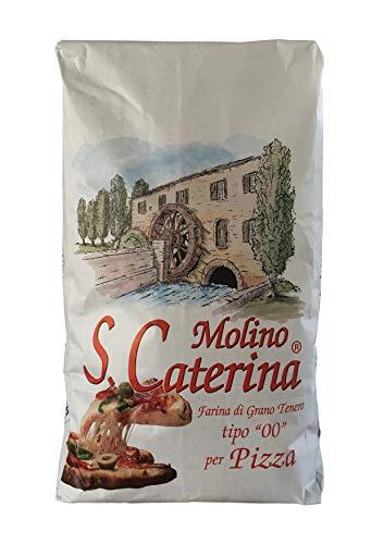 S. Caterina Pizza Mehl - 10 kg Sack -Weizenmehl Typ 00