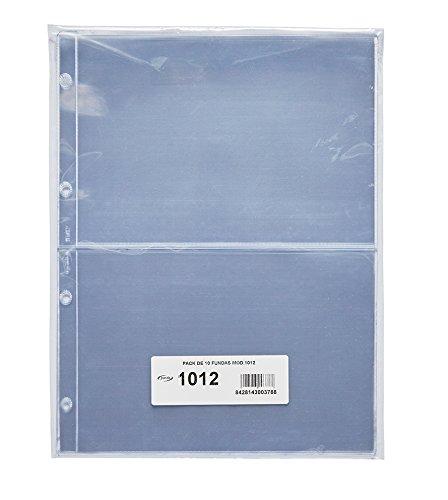 Pardo 101200 - Pack de 10 fundas para colección variada, 2
