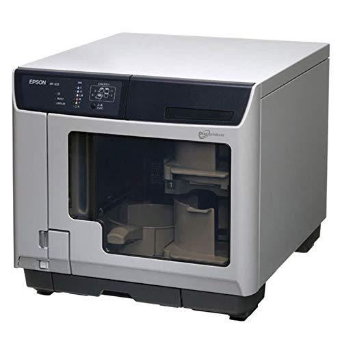 エプソン CD/DVDレーベル印刷専用プリンター ディスク デュプリケーター USB対応 100枚一括プリント PP-100AP ワークスタイル応援フェアキャンペーンモデル PP-100AR2