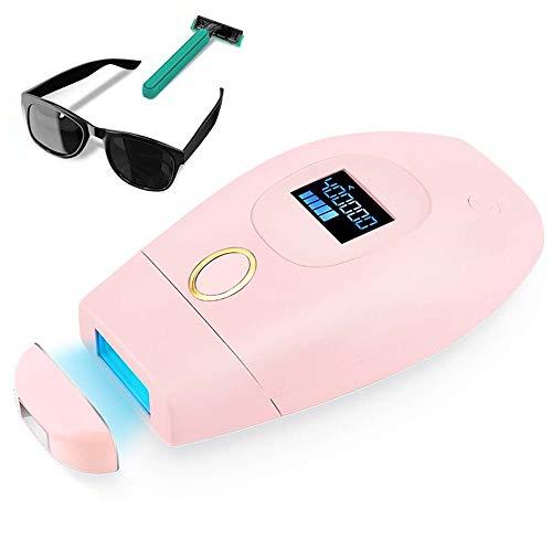 IPL Geräte Haarentfernung Laser Heimgebrauch Haarentferner 400.000 Lichtimpulse für Damen, Dauerhafte Haarentfernungsgerät mit Kühlpflegefunktion für Körper, Gesicht, Bikinizone, Intimbereich