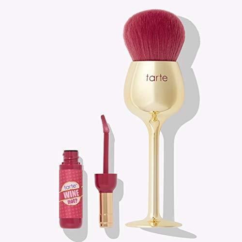 TARTE wine not? lip gloss & brush set