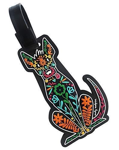 By Mexico identificador de maleta Xoloescuincle PVC