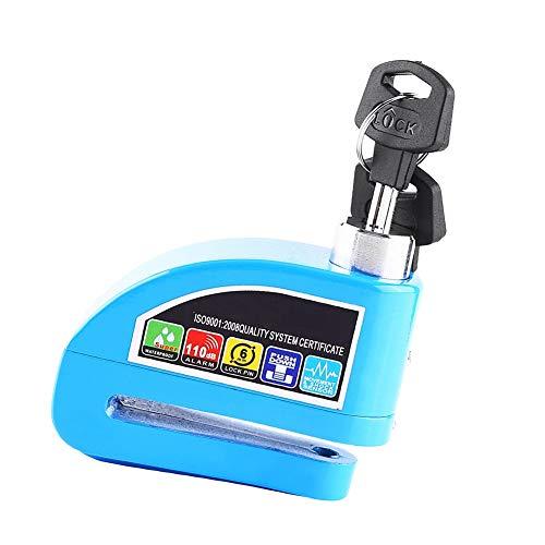 Sistema de alarma de seguridad Bloqueo de freno, Bloqueo de disco, Accesorios para bicicletas para vehículos para bicicletas(green, Green)