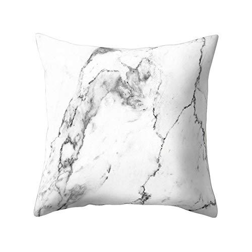 Funda de cojín suave y cómoda con patrón de mármol, funda de almohada para sofá, decoración del hogar, de Amesii