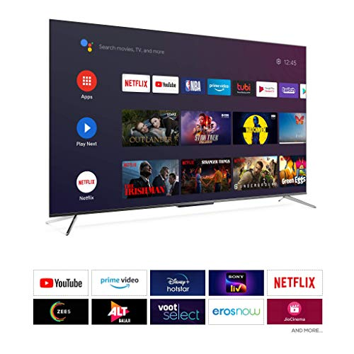 iFFALCON 139 cm (55 inches) 4K Ultra HD Certified Android Smart QLED TV 55H71 (Metallic Black) (2021 Model) | Dolby Vision & Atmos 3