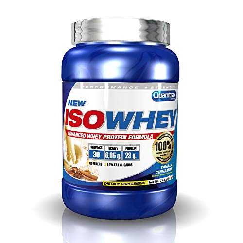 Quamtrax Nutrition Supplemento Nutrizionale Isowhey 2 lb Cinnamon Vanila - 907 gr
