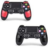 2 Pack Wireless Controllers for PS4 and for...