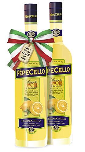 "Limoncello of Sorrento I.G.P. ""PèpeCello"" - 2 PACK"