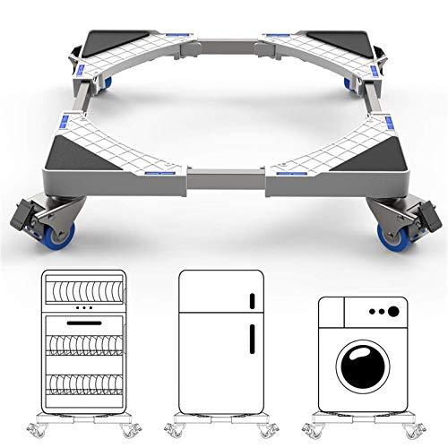 DEWEL Base con Ruedas Ajustable 44.8 a 69 cm Soporta 100kg