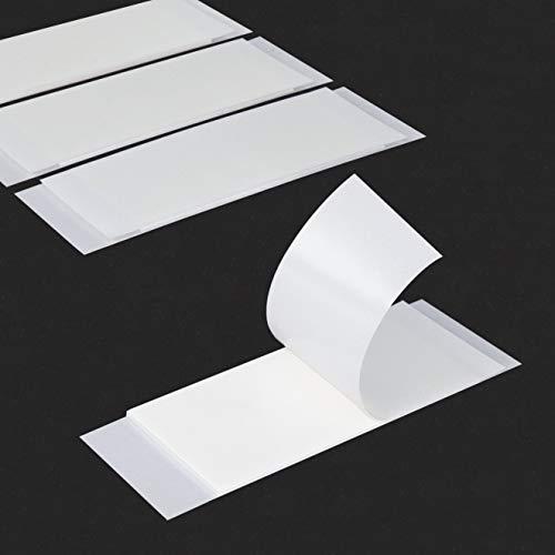 Befestigungs-Klebestreifen | doppelseitig stark klebend | 25 x 50 mm | 1 mm dick | Menge wählbar / 20 Stück