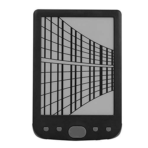 E-Book-Reader, 6-Zoll-E-Book-Reader mit elektronischem Tintenbildschirm,...