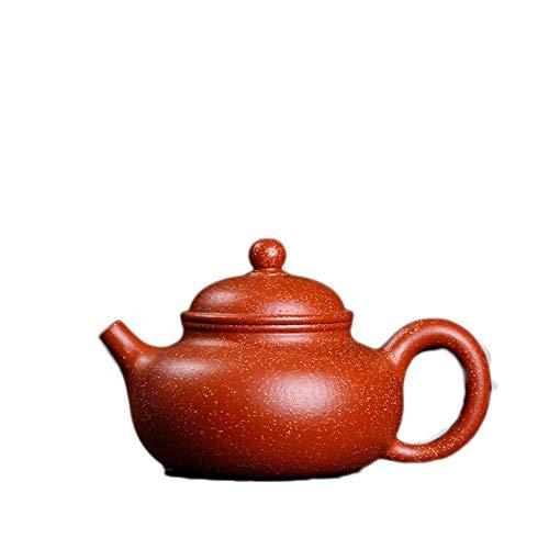 W.Z.H.H.H Teiere Ore Sand Drago Volume Sangue Day Pot Yixing Tea Fango Down The Tea Slope Segmento Maker Sand Pot Teiera Fatta a Mano (Color : Dragon Blood Sand)