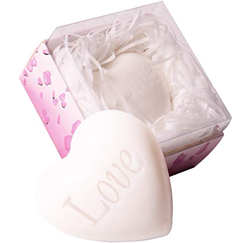 24Pack White Love Heart Style Soap Favours, Wedding Favours, Bridal Shower...