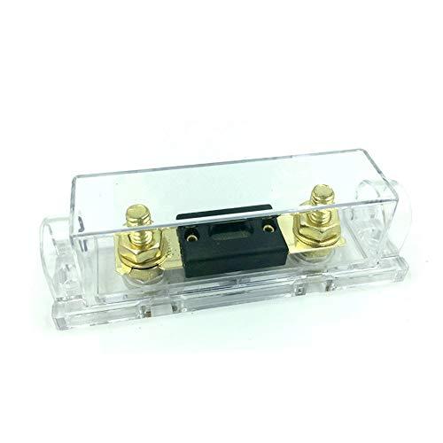 Mangen ANL-40A ANL Sicherungen 40Amp für Auto Fahrzeuge Audio Vergoldet mit Sicherungshalter