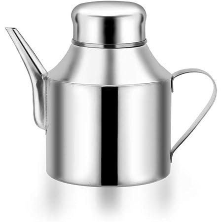 Stainless Steel Vinegar Oil Leakproof Dispenser Bottle Kitchen Home Cooking Pot