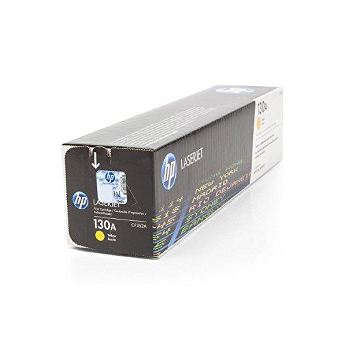 Cartucho original para HP Color LaserJet Pro MFP M 170Series HP 130A CF352A Cartuchos de impresora––Amarillo–1000páginas