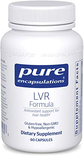 Pure Encapsulations - LVR Formula - Hypoallergenic Supplement with Antioxidant Support for Liver Cell Health - 60 Capsules