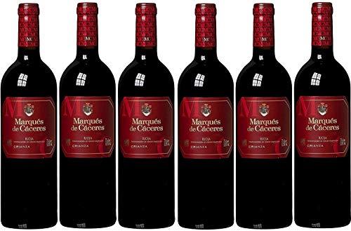 Marqués De Cáceres Rioja Crianza d.o. aprox. Tempranillo 2015en seco (6x 0.75l)