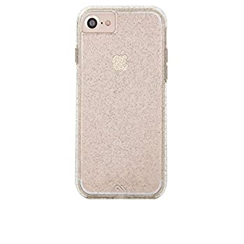 Case-Mate - iPhone 7 Case - Naked Tough - Sparkle Effect - iPhone 7 / 6s / 6 - Sheer Glam