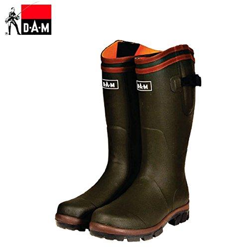 DAM Gummistiefel Flex Rubber Boots-Cotton Lining (44)