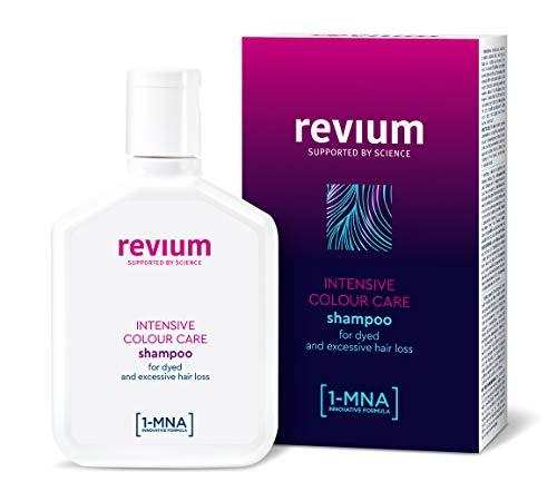Revium Intensive Repair Colour-Care, shampoo riparatore per la cura dei capelli colorati, con molecole 1-MNA, 200 ml