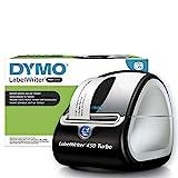 Impresora de etiquetas térmica DYMO LabelWriter 450 Turbo, imprime 71 etiquetas LW por minuto
