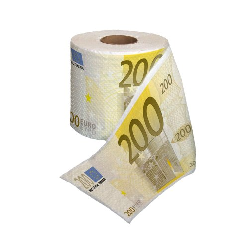 Thumbs Up A0000309 Toilettenpapier 200 Euro
