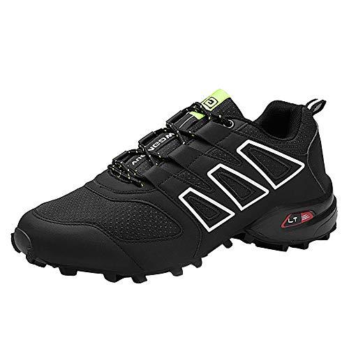 Zapatillas de Montaña Impermeable diseñados para Senderismo Trekking montaña Deportes al Aire Libre A Prueba de Golpes, duraderos, Transpirables y Antideslizante