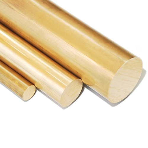 Messing MS 58 Rundstange Messingstange - Ø 35 mm - Länge: 250 mm