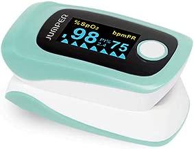 パルスオキシメーター 血中酸素濃度測定器 JPD-500E 見やすい有機EL画面 看護 介護 家庭用 医療機器認証取得済