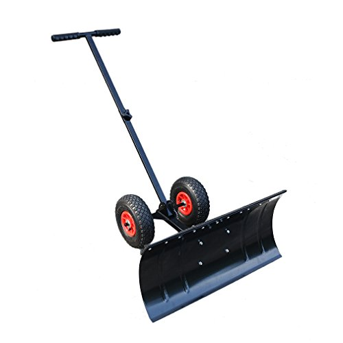 Blackpoolal Pala de Nieve Grande,740 * 460 * 15mm,Pala para Nieve con Mango Largo/Pala quitanieves Plegable/Pala de Emergencia para Nieve