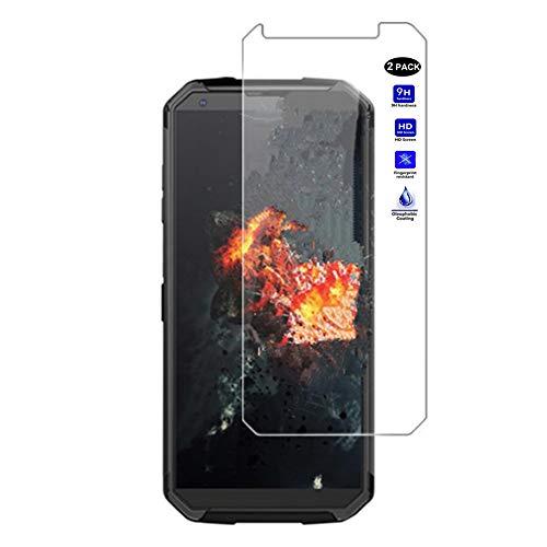 """XMTN Blackview BV9500,Blackview BV9500 Pro5.7"""" Protector de Pantalla,0.3mm Dureza de Grado 9H Protector de Pantalla de Vidrio Templado Cristal Protector para Blackview BV9500 Pro Smartphone (2 Pack)"""
