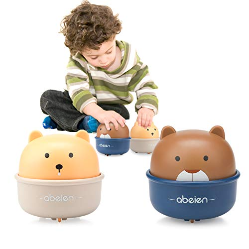 YSSHUI Toy Cars, 2 Pack Mini Baby Toy Car Wind Up Animal Toy Vehicles Set Press and Go Birthday for 1 2 3 4 Year Old Boys, Girls