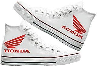 Art T-Shirt -Honda Baskılı Unisex Canvas Ayakkabı