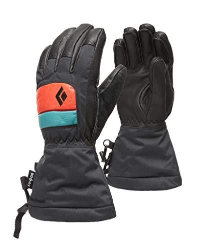 Black Diamond Kids' Spark Gloves Gants Mixte Enfant, Caspian-Rust, FR : L (Taille Fabricant : Large)