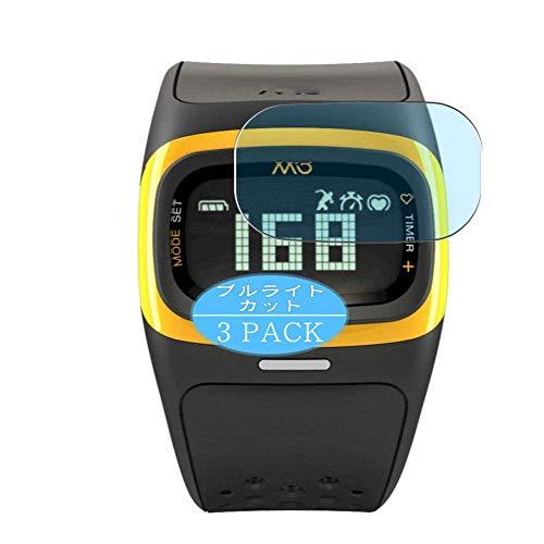Vaxson Protector de pantalla anti luz azul, compatible con reloj inteligente Mio Alpha 2, protector de pantalla de bloqueo de luz azul [no vidrio templado]