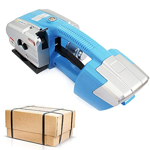 GZTYLQQ Flejadora eléctrica, flejadora automática portátil, flejadora, soldadora Manual, flejadora para Correas...