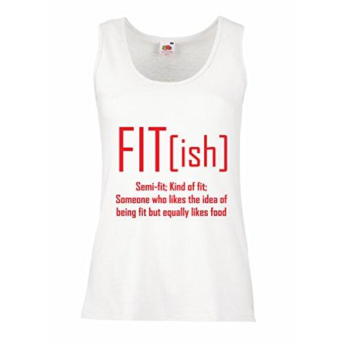 lepni.me Women's Tank Top Fit - Ish Definitie. Oefening Sportschool, Sarcastisch cadeau