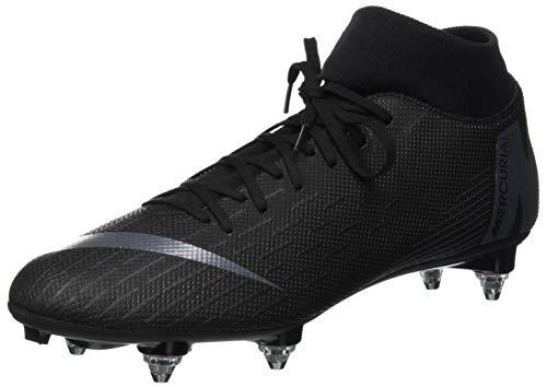 Nike Superfly 6 Academy SG-PRO, Scarpe da Ginnastica Basse Unisex-Adulto, Nero (Black/Black 001), 44.5 EU