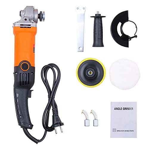 Weytoll 670W Amoladora de ángulo, Máquina de pulido de Automóviles, Máquina pulidora de mano, Máquina Lijadora, Máquina multifuncional y Versátil