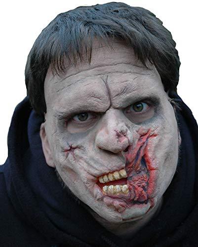 Maskworld Horror-Maske aus Latex - Gruselmaske Rotten Rodney
