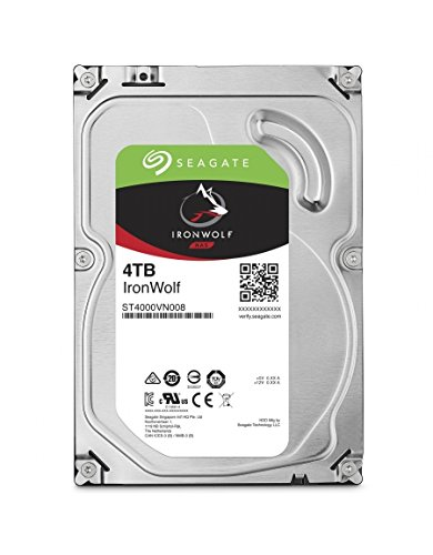Seagate IronWolf NAS 4TB 3,5 Zoll SATA 6Gb/s - ST4000VN008