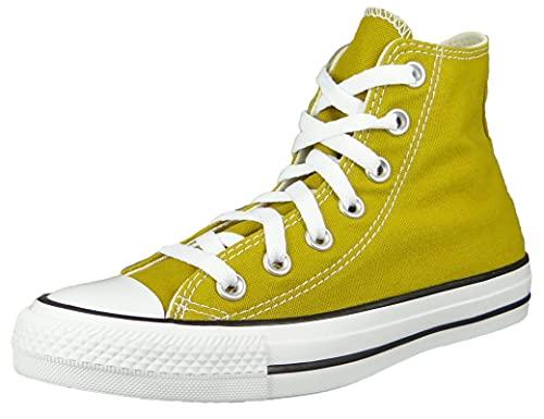 Converse Chuck Taylor All Star HI 171261C - Sneaker alte da donna, colore: Giallo, Citron scuro., 37 EU