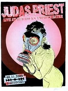 Judas Priest & Whitesnake 2009 Concert Poster