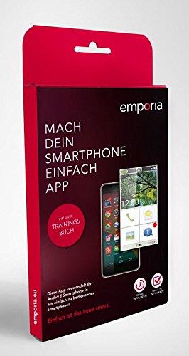 Emporia APP_Simple_GER Mach Dein Handy einfach App mit Trainingsbuch für Smartphone-Einsteiger