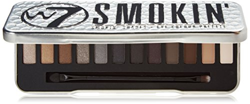 W7 Oogschaduw Up in Smoke Palette