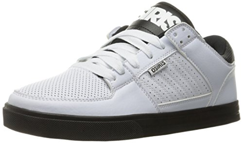 Osiris Herren Protocol Skate Schuh, Weiá (Weiß/Schwarz), 45.5 EU