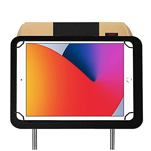 Soporte Tablet Coche reposacabezas Compatible con iPad 10.2' 8ª 7ª Generacion 2020 2019 Nylon irrompible mas Seguro del Mercado Compatible con iPad Air 10.5' 2019 e iPad Pro 10.5' 2017
